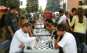 Chess at Santa-Rosa-market