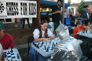 Chess at Wednesday Night Market