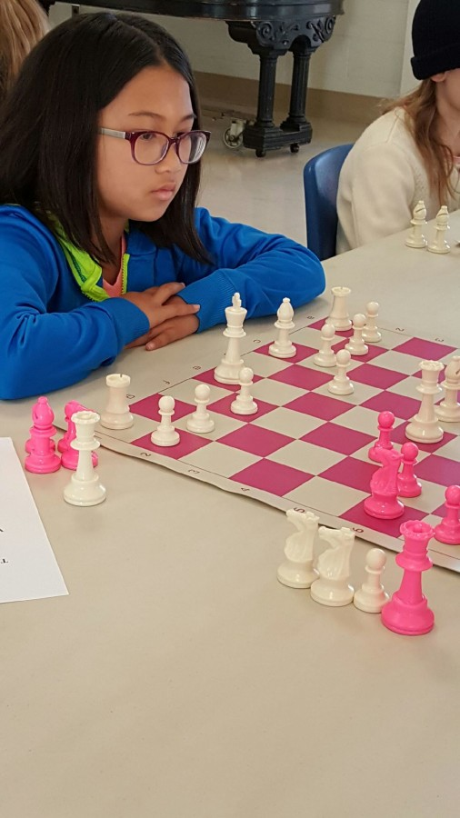 2016 Girls Chess Sonoma County 1