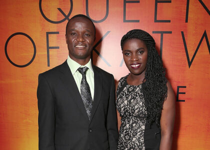 """attends the Premiere Of Disney's """"Queen Of Katwe"""" at the El Capitan Theatre on September 20, 2016 in Hollywood, California."""
